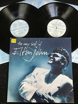 The Very Best Of Elton John (Greatest Hits) 2 x Vinyl LP & Inners Gatefold NM/EX