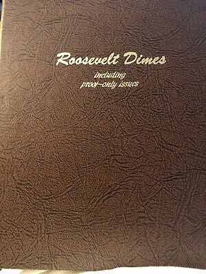 Dansco US Roosevelt Dime Coin Album Page 3 with Proof 1979-1992  #3-8125