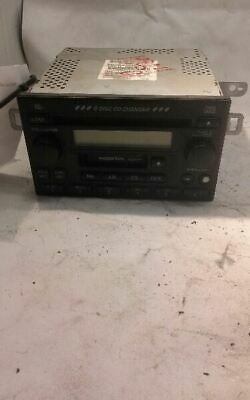 1999 - 2006 HONDA CR-V CRV Radio Stereo 6 Disc Changer CD Player AM FM OEM