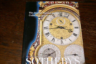 The Justice Warren Shepro Collection Of Clocks Sothebys Catalogue 2001