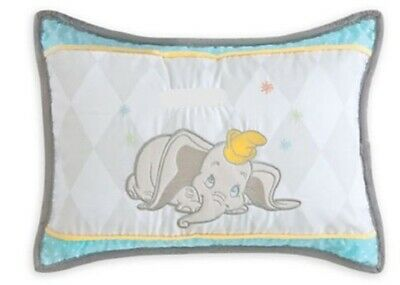 NEW Disney Store Baby Super Soft Adorable Dumbo Pillow Nursery Bedding Decor