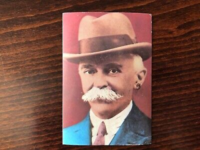 PIERRE DE COUBERTIN Trading Card 1964 Founder International Olympic Committee