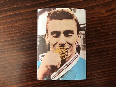 HANS ZDRAZILA Trading Card 1964 GOLD weightlifter Olympic Champion