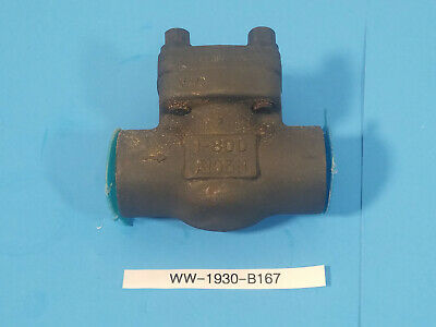 New Sharpe Class 800 1 in. NPT Threaded Forged Carbon Steel Swing Check Valve