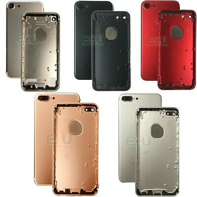 For Apple iPhone 7 / 7 Plus Housing Frame Metal Back Cover Replacement