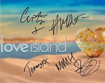 Tommy Fury Molly Mae India Curtis HAND SIGNED 8x10 Photo AUTOGRAPH Love Island