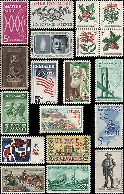 US #1242-1260 set MNH 1964 commemorative year set of 19 stamps