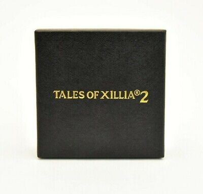 TALES OF XILLIA2 Official Compact Mirror Promo Item Gold with Box