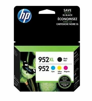 NEW HP Genuine 952XL Black /952 Color Ink Cartridge For Officejet Pro (No Box)