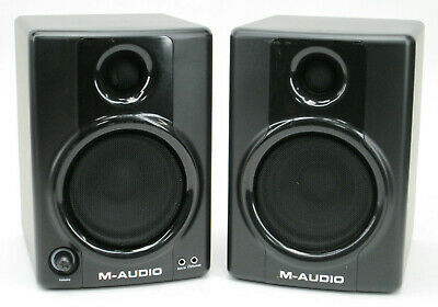 PAIR of M-Audio Studiophile AV40 Powered Reference Studio Monitor Speakers #020