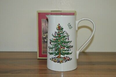 "Spode Christmas Tree - 2 Pint  / 7"" Milk / Custard / Water Jug BNIB"