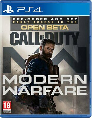 Call of Duty Modern Warfare (PS4)  BRAND NEW AND SEALED - QUICK DISPATCH