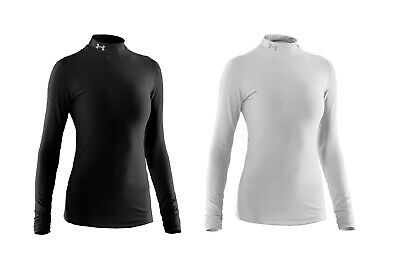 Under Armour BaseLayer ColdGear L/S Fitted Mock Top -1221816 -Womens Compression