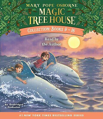 Magic Tree House Collection: Books 9-16 : #9: Dolphins at Daybreak; #10: Ghost T