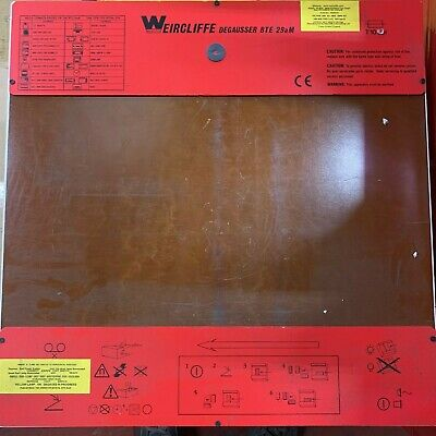Weircliffe Degausser BTE 29aM Secure Wiping Key Included