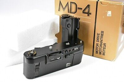 Bnib Tested Nikon Md-4 Motor Drive Winder  For F3 F3Hp F3P F3/T F3H Rrp Was £229