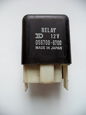 056700-6700 Flasher Relay Turn Signal Blinker Relay 27034-1007 Kawasaki - Vgc!