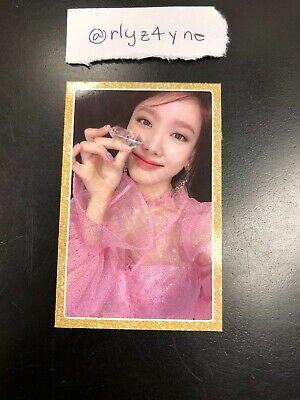 TWICE Feel Special 8th Mini Album Nayeon Official Photocard