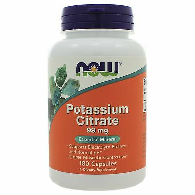 NOW Foods Potassium Citrate 99mg NL0085