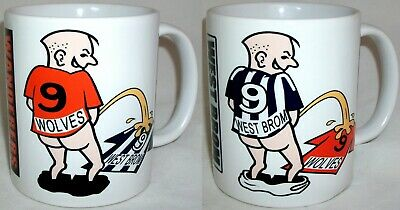 Funny West Brom Wolves Football Rivalry Shirt Coffee Tea Mug Black Country Derby