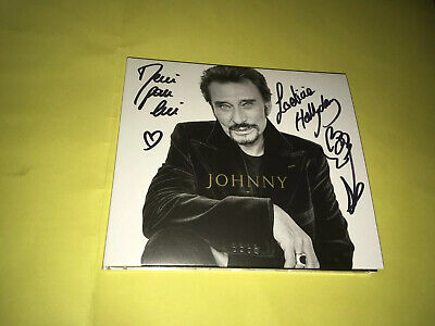 Laeticia Hallyday Cd dedicace autograph Digipack johnny Rare Et Collector