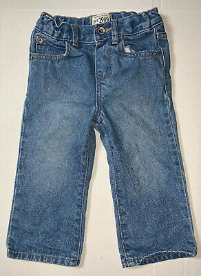 Preowned- The Childrens Place Bootcut Denim Jeans Kids (Size 18-24 Months)