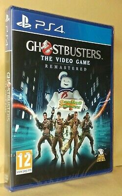Ghostbusters The Video Game Remastered Playstation 4 PS4 NEW SEALED Free UK p&p