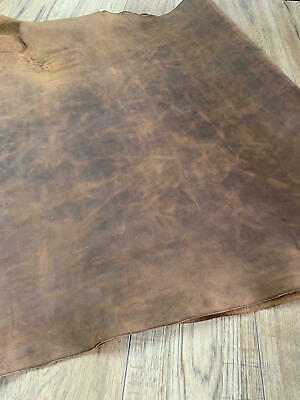 CRAZY HORSE LEATHER SIDE - TAN 1.5 - 2mm