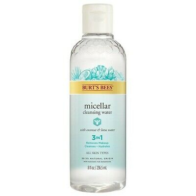 Burt's Bees Facial Care Micellar Cleansing Water w Coconut Water 8FlOz 235504 OC