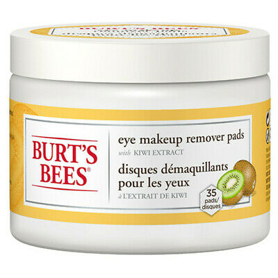 Burt's Bees Facial Care Eye Makeup Remover Pads 35 Ct Cleansers 231246 OC