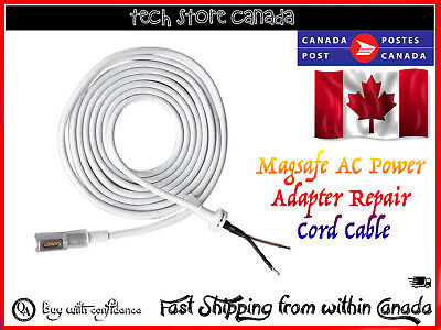 45W 60W 85W AC Laptop Power Adapter Repair Cord Cable L-Tip For Macbook Magsafe