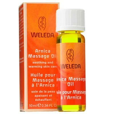 Weleda Body Oils Massage Oil, Arnica 0.34 Fl Oz Trial-Size 5237 OC