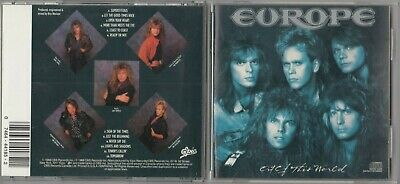 Europe - Out of This World (CD, Aug-1988, Epic) EK 44185