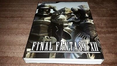 Final Fantasy Xii Brady Games Limited Edition Strategy Guide Nmmt Condition