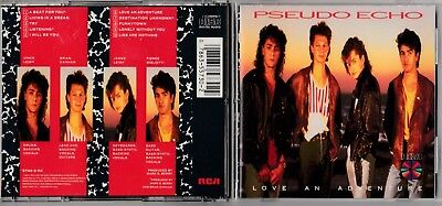 Pseudo Echo - Love An Adventure CD 1987 Rca Early Giappone Premere 5730-2-RX