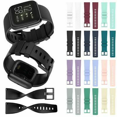 Watch Band For Fitbit Versa/Versa Lite/Versa 2 Soft Silicone Replacement Strap