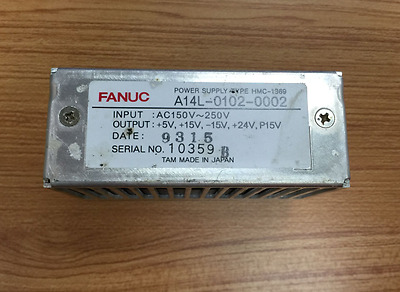 1PC Used Fanuc A14L-0102-0002 Power Supply Tested