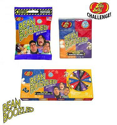 Jelly Belly Bean Boozled 5th Edition Bag Box Spinner Game