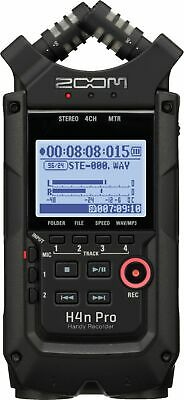 Zoom - H4N PRO Handy Recorder - All Black