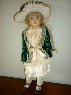 1980's K&R 114 Kammer & Reinhardt reproduction doll bisque head soft body