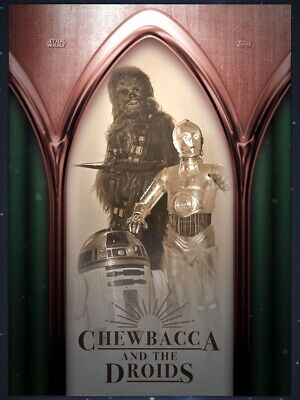 SPACE OPERA BRONZE CHEWBACCA AND THE DROIDS Topps STAR WARS DIGITAL Card Trader