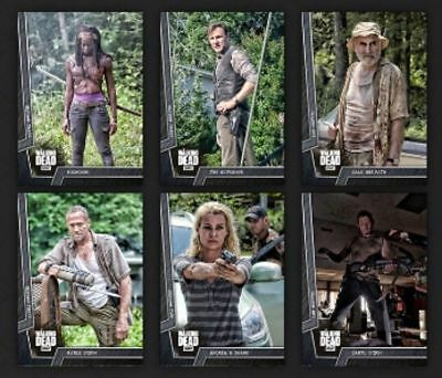 BATTLE READY STEEL SET WAVE1 +GLENN AWARD Topps WALKING DEAD DIGITAL Card Trader