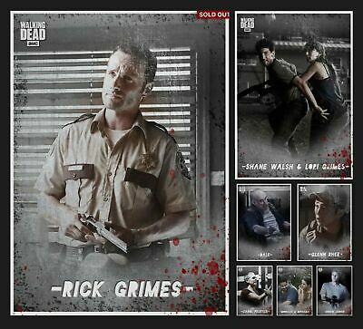 TINTYPE WHITE SET +MELD +SUPER WAVE 2 Topps WALKING DEAD DIGITAL Card Trader