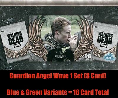 GUARDIAN ANGELS WAVE1 (8 CARD SET) AWARD READY Topps Walking Dead Digital Trader