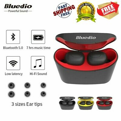 Bluedio T elf Air Pod Wireless Earphones Sports Mini Headset for iPhone Android