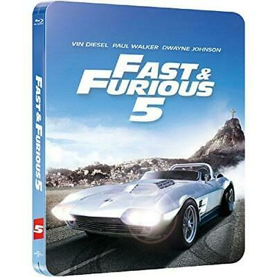 STEELBOOK FAST AND FURIOUS 5 EDITION LIMITEE - Bluray
