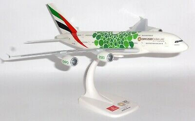 Airbus A380 Emirates Airline Sustainability 2020 Collectors Model Scale 1:250 G