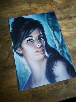 J H Lynch Tina beautiful quality A3 print kitsch vintage Tretchikoff