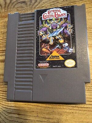 Conquest Of The Crystal Palace - Nes ( Nintendo ) Game Only !
