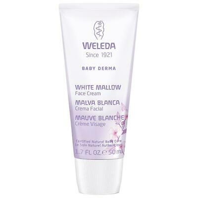 Weleda Baby Derma White Mallow Face Cream 1.7 Fl Oz 227731 OC